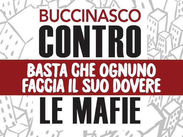 """""""Buccinasco contro le mafie"""", con sindaci, consiglieri e cittadini"""
