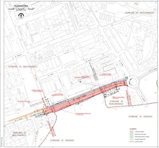 Strada di collegamento Meucci Lomellina, lavori da fine ottobre